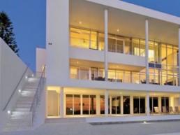 Exterieur maison luxueuse