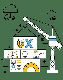 schéma de construction d'une page web