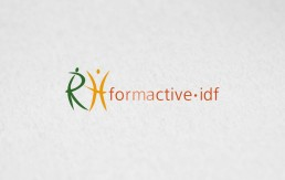 mock-up logo rh formactive idf