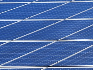 Toit de panneaux photovoltaïques