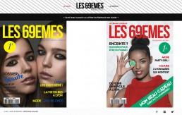 Portfolio couvertures magazines