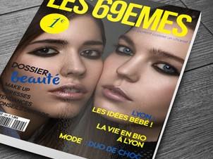Couverture magazine les 69emes sur parquet
