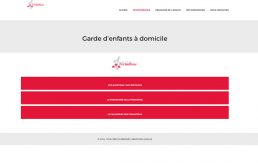Design page services Lyon formation