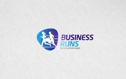 Logo course running inter-entreprises