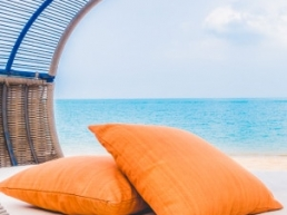 Photo d'un Sun bed sur la plage