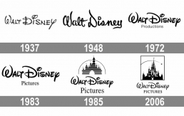 Evolution logo Walt Disney