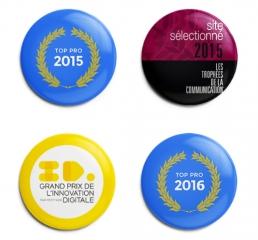 Récompenses agence de création et communication visuelle à Lyon